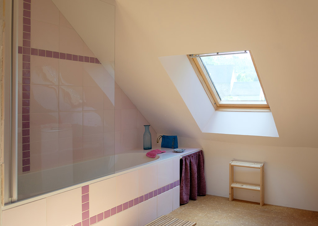 Ecogîte La Charrette Bleue – Salle de bain